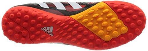 adidas Predator Absolado Instinct Tf - Zapatillas de fútbol Hombre negro - Schwarz (Black 1 / Running White / Infrared)