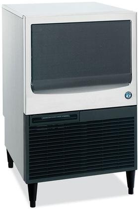 Hoshizaki KM-151BAH 24'' Energy Star Qualified Undercounter Self-Contained Ice Maker With 146 lbs. Daily Ice Production 78 lbs. Built-In Storage Capacity Crescent Ice Cubes Air Condenser by Hoshizaki