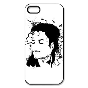Custom Your Own Personalised Michael Jackson Abstract Iphone 5 Best Durable Hard Cover Case