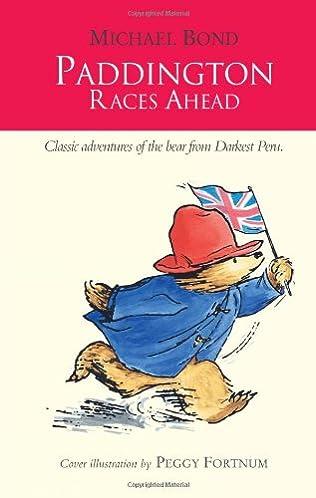 book cover of Paddington Races Ahead