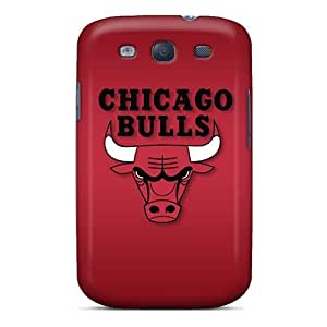 Chicago Bulls Case Compatible With Galaxy S3/ Hot Protection Case
