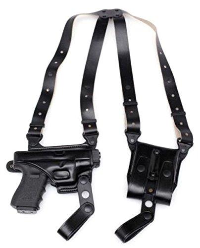 - Master's Holsters Horizontal Shoulder Holster, Right Hand, Black, Glock 43, 9049BLK