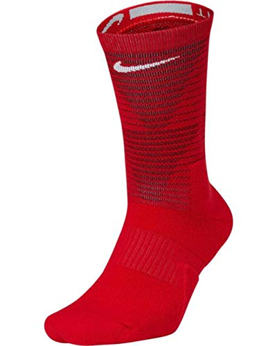 Nike Elite Basketball Crew Socks (Small, Team Red ()
