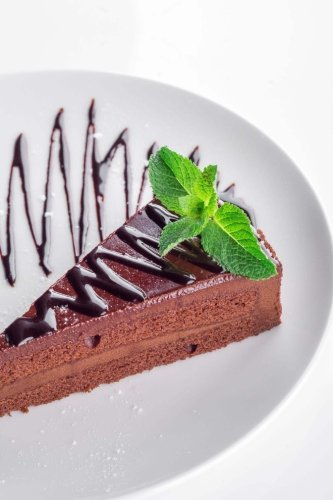 Chocolate: 150 Lined Journal Pages / Diary / Notebook Featuring Yummy Chocolate Cake Pie Mousse Desert on the Cover