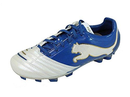 Puma - Botas de deportivo para hombre, tamaño 7.0 UK - 40.5 EU, color blanco / rot / blau Blanco (Weiß)