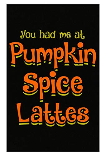 Ginial Wear Funny Fall Food Pumpkin Spice Lattes - Poster