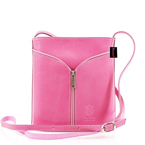 Callie Lock and Key Cuero Cubo Bolsa Rosa