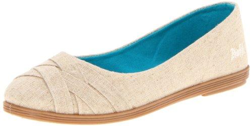 Blowfish Glo Mujer US 10 Beis Zapatos Planos
