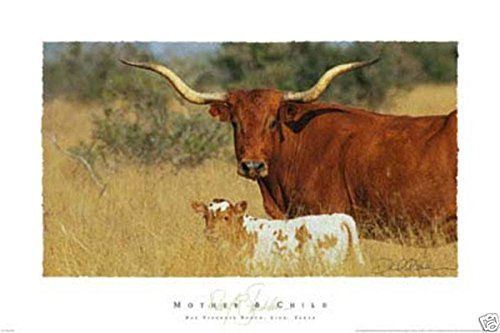 Mother & Child David Stoecklein Quality Cow Calf Western Pri