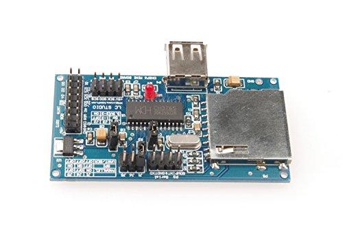 SMAKN® CH376S U Disk SD Card Read-write Modules USB Flash Disk SPI for Arduino Raspberr (Usb Disk Module)