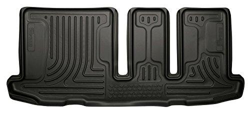 Black 3rd Seat Floor Liner (Husky Liners 19661 WeatherBeater Black 3rd Seat Floor Liner)