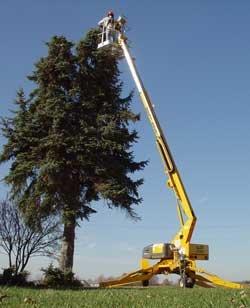 Haulotte BilJax 3632T Towable Telescoping Boom Lift
