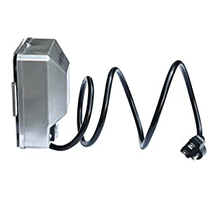 Onlyfire Universal Grill Electric Replacement Stainless Steel Rotisserie Motor 120 volt 4 Watt On/Off Switch- 40 lb. Load, OEM/ODM, Aftermarket
