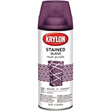 Krylon STG-9027 Stained Glass Paint 11.5oz - Royal Purple