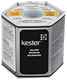 "Kester 24-6337-0027 Solder Roll, Core Size 66, 63/37 Alloy, 0.031"" Diameter"