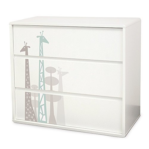 P'kolino Safari Dreams Dresser (Grey) by P'Kolino