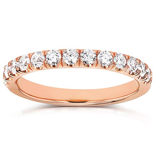 Flame French Pave Lab Grown Diamond Comfort Fit Womens for sale  Delivered anywhere in USA