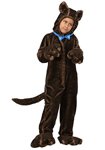 (Child Deluxe Brown Dog Costume Medium)