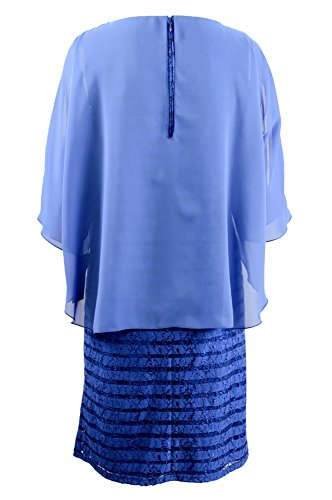 Kleid Collection Blau Ultramarine HERMANN LANGE 6Pwqpx4T