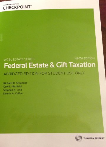 Fed.Estate+Gift Tax. Abr. Text Only
