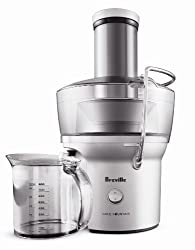 Breville BJE200XL Compact Juice Fountain 700-Watt Juice Extractor, Pack of 2 by Breville