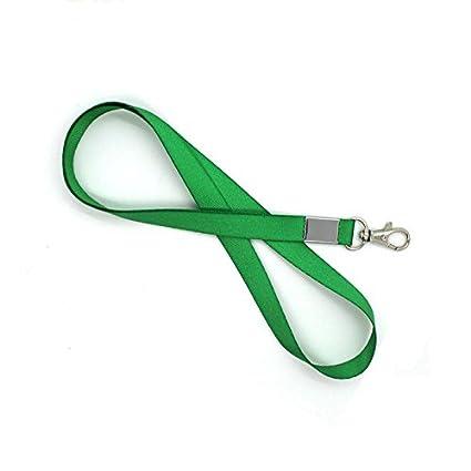 10pcs Verde Cuello Cinta Lanyard Teléfono llavero ID Badge ...