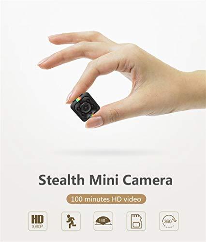 Mini High Definition Camera, 1080P Portable High Definition Camera Mini Night Vision DV for Outdoor Sports Mini Video DV Recorder(Black)
