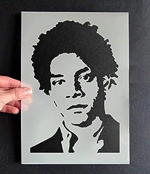 Jean Michel Basquiat Bild Schablone Art Decor Basteln Schablone
