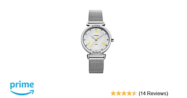 Amazon.com: SHENGKE Elegant Simplicity Quartz Watch Mesh Band Women Watches Ladies Business Wristwatch 2018 K006L: Watches