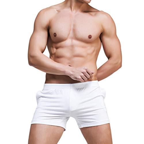 (NEARTIME Men's Shorts, Loose Shorts Mens Trousers Sport Casual Pants)