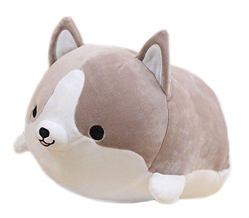 (MathewArt Cute Funny Corgi Dog Butt Plush Pillows Soft Toys)