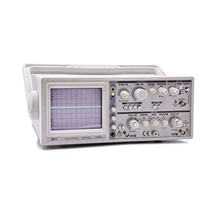 XIAOF-FEN High Precision OS-5100 100MHz Analog Oscilloscope Dual Channel Handheld Oscilloscope Home Improvement Electrical