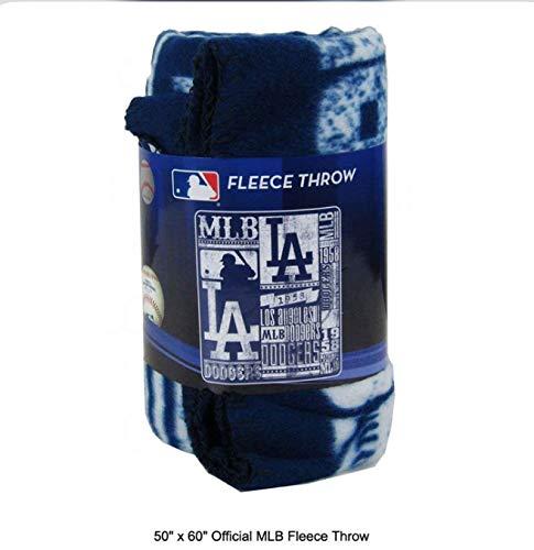 eles Dodgers Fleece Throw ()