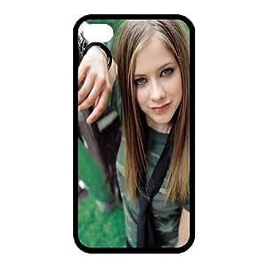 Custom Avril Back Case for iphone4,4S JN4S-166