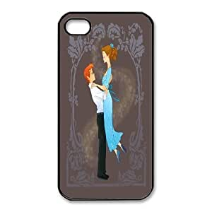 iphone4 4s phone case Black Peter and Wendy Peter Pan Disney Couples Go To Prom XXD0017841