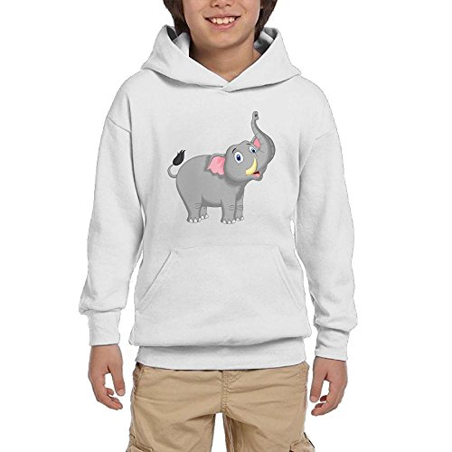 IF1 Hoodie Cute Elephant Boy Casual With Pocket Hooded Crew Neck Pullover Sweatshirts