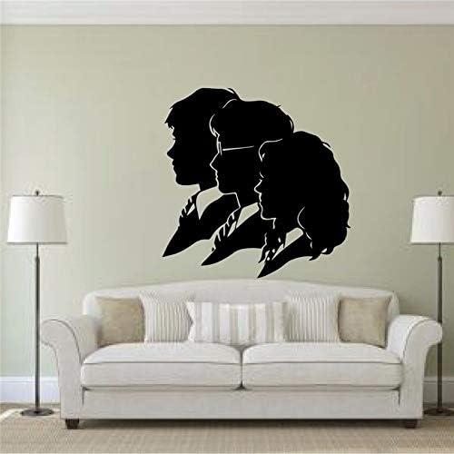 etiqueta de la pared decoración Harry Potter, Hermione y Ron ...