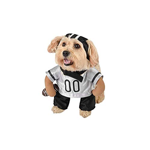 3D Football Player Pet Costume for Halloween of Football Games]()