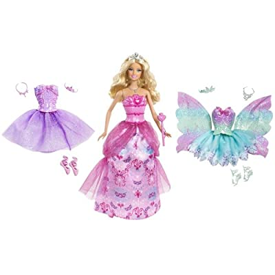 Barbie Princess Fantasy Dress Up Doll from Mattel