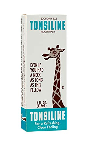 Tonsiline Throat Gargle Mouthwash | Goodbye Sore Throat | Works Amazingly