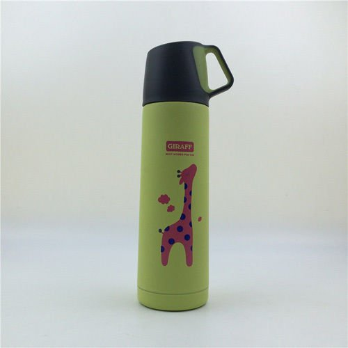 Green Tea Coffee Water Bottle Travel Mug Stainless Steel Flask Cup