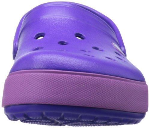 Unisex Adulto dahlia Morado Zuecos Crocband ultraviolet Crocs Clog 5 Ii XzqY6