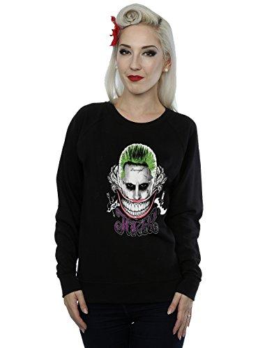 De Smile Entrenamiento Camisa Mujer Coloured Suicide Joker Negro Squad zTHq11