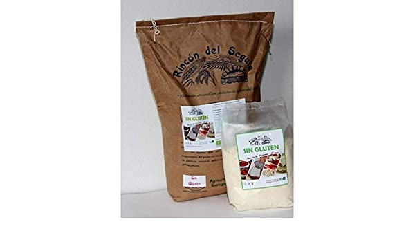 Mix harinas suaves sin gluten ecológico 1 kg: Amazon.es ...