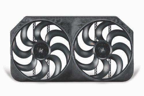 (Flex-a-lite 294 Dual Shrouded S-Blade Electric Fan,)