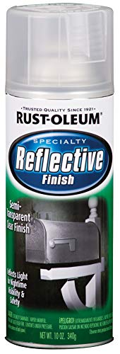 Rust-Oleum 214944 Specialty Reflective Spray, 10 oz, Clear