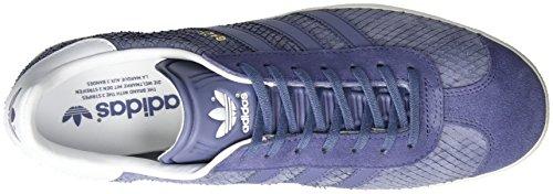 super Gazelle Basses off Adidas Bleu Violet Baskets Purple White Femme super YqUxxPd4