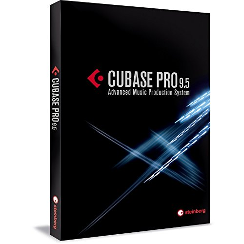 Steinberg Cubase Pro 9.5 Recording Software (Retail Box Version)