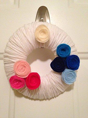 Yarn Wreath - 8