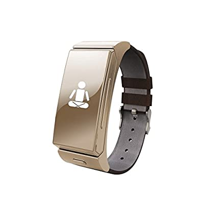 Next-shine Bluetooth Fitness Activity Tracker with Heart Rate Monitor,Golden